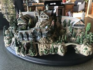 Weta Rivendell Environment Very Rare Lord Of The Rings Tolkien The Hobbit