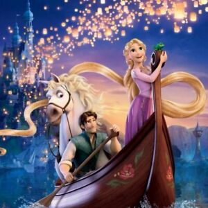 Full Drill 5D DIY Diamond Painting Embroidery Tangled Rapunzel Craft Art Gift