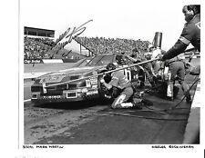 Autographed Mark Martin NASCAR Auto Racing Photograph