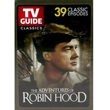 The Adventures of Robin Hood Dvd Tv Guide Classics 39 Episodes 3 Discs
