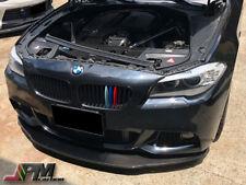 Fit 2011-2016 F10 M-Sport 528i 530i 550i K2 Style Carbon Fiber Front Bumper Lip