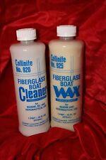 Collinite Fiberglass Boat Wax&Cleaner Kit FACTORY FRESH