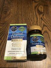 GARDEN OF LIFE New PRIMAL DEFENSE PROBIOTIC FORMULA 60 Veg Capsules NIB 3/2021