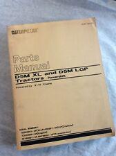CAT Caterpillar D5M Tractor Dozer Crawler Parts Manual Book 5ES Catalog XL LPG
