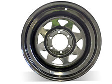 "16X8"" N25 BLACK SUNRAYSIA Steel Wheel,for Colorado,Triton,Hilux,Range,Patrol"