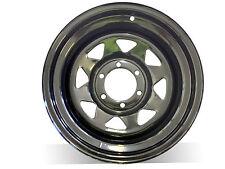 "1 X 16X8"" N25 BLACK SUNRAYSIA Steel Wheel,for Colorado,Triton,FREE DELIVERY*"