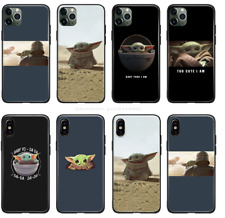 The Mandalorian Baby Yoda Star Wars Soft Silicone Case For iPhone Free Shipping