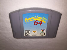 Bass Hunter 64 (Nintendo N64) Game Cartridge Excellent!