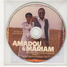 (FF50) Amadou & Mariam, Dougou Badia ft Santigold - 2012 DJ CD