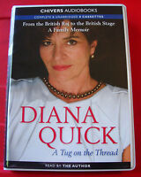Diana Quick Reads A Tug On The Thread 8-Tape UNABR.Audio Book Biog/India/Acting
