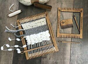 Weaving Loom Kit with 2 looms PLUS many accessories, great beginner / kids loom.