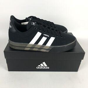 Adidas Daily 3.0 Skateboarding Shoes Mens Size 8.5 Black White FW7050