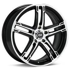 17x7 Enkei FD-05 5X114.3 +40 Black Machined Wheels (Set of 4)