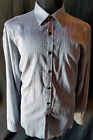 MENS SHIRT ALD0 ROSSINI LONG SLEEVED BUTTON UP 100% COTTON SIZE X-LARGE
