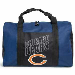 Chicago Bears Duffel Bag Gym Bag Overnight Bag 18x12x8 NFL