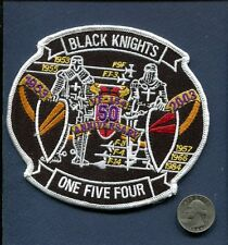 VF-154 BLACK KNIGHTS 50th ANNIVERSARY US NAVY F-14 TOMCAT Fighter Squadron Patch