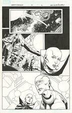Guardians of the Galaxy 22 ART PAGE Rocket Raccoon Drax Moondragon Marvel Comics