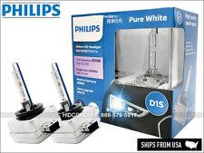 Genuine! Philips 6000K Ultinon Flash White D1S XenStart HID XENON Bulbs JAPAN