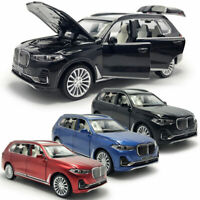 1:32 BMW X7 2019 SUV Model Car Metal Diecast Gift Toy Vehicle Kids Pull Back