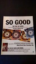 "Bryan Adams ""So Far So Good"" (1993) Rare Original Print Promo Poster Ad"