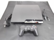 Sony Playstation 3 Black Pal COMPUTER CONSOLE (10) CECH-25038