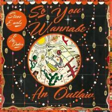 STEVE EARLE & THE DUKES So You Wannabe An Outlaw CD/DVD NEW Gatefold NTSC ALL