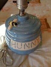 Vintage Winnie the Pooh Lamp Hunny Honey Pot Nursery Bedroom Baby Kids Decor
