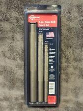 61360 Mayhew Pro 3-pc Brass Drift Punch Set 3/8 x 6