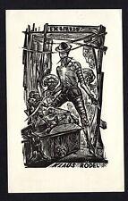 16)Nr.069- EXLIBRIS- Don Quijote - Lazar Laszlo Nagy