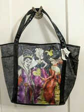 Nwt Disney Designer Villains Sequin Tote Bag - Rare!