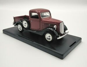 1:24 1937 Red Ford Pickup Truck