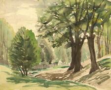 Walter Cristall - Mid 20th Century Watercolour, Trees