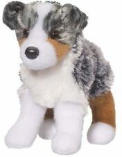 "STEWARD Douglas 7"" plush AUSTRALIAN SHEPHERD DOG stuffed animal cuddle toy"