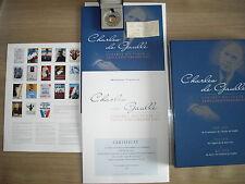 Coffret souvenir du triple anniversaire 2010 de Charles de Gaulle.