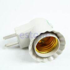 E27 Base To AC Power 110V 220V Lamp Bulb Socket Adapter Converter On OFF Switch