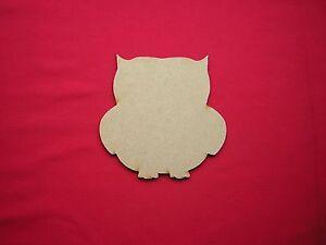 12cm MDF  OWLS (x6)  LASER CUT