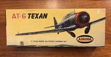 1960 Aurora 1/4 AT-6 Texan Plane Model Kit