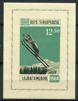 Albanien 1963 Mi. Bl. 21 Block 100% Postfrisch 12,50, Olympiade, Innsbruck