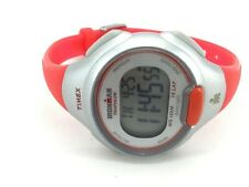 TIMEX T5K741 IRONMAN TRIATHLON 10 LAP SPORT WATCH CORAL WOMENS WATCH