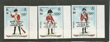 Grenada 1972 Military Uniforms with Olympics O/P MNH