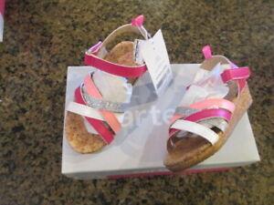 Carter's Girls Sandals Toddler shoes 6 Lana-C Neon pink CS160301 NEW NIB NWT