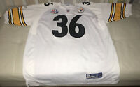 NWOT Authentic Reebok Jerome Bettis Pittsburgh Steelers Super Bowl XL Jersey 56