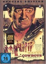 DVD DIE COWBOYS - SPECIAL EDITION - HOLZBOX - JOHN WAYNE *** NEU ***