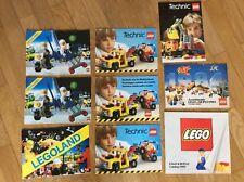 Cataloghi Depliant Lego e Technic anni 80