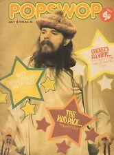 Popswop Magazine No. 93 13 July 1974    Freddie Mercury    Andy & David Williams