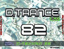 D.TRANCE 82 (INCL.D.TECHNO 39)  4 CD NEU