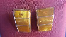 NOS CHEVY CAPRICE 1979 HEAD LIGHT BEZEL CORNER FENDER SIDE MARKER LAMP Set