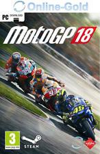 MotoGP 18 2018 - PC Steam Digital Download Code PC Online Key - Rennspiele - DE