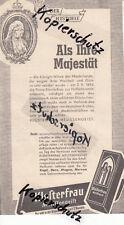 Alte Werbung 1957; Klosterfrau Melissengeist