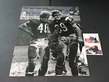 Mike Ditka and Gale Sayers Chicago Bears Autographed Signed 16x20